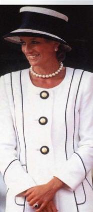 style and fashion - Princess Diana